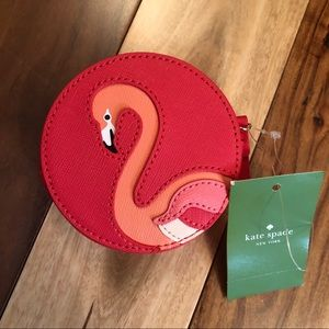 Kate Spade Flamingo Strut Your Stuff Coin Purse